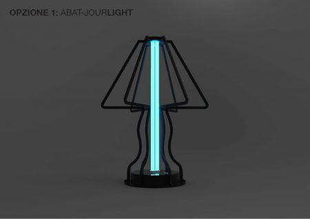 LAMPADA DA TAVOLO GERMICIDA UV-C UV-V CON OZONO