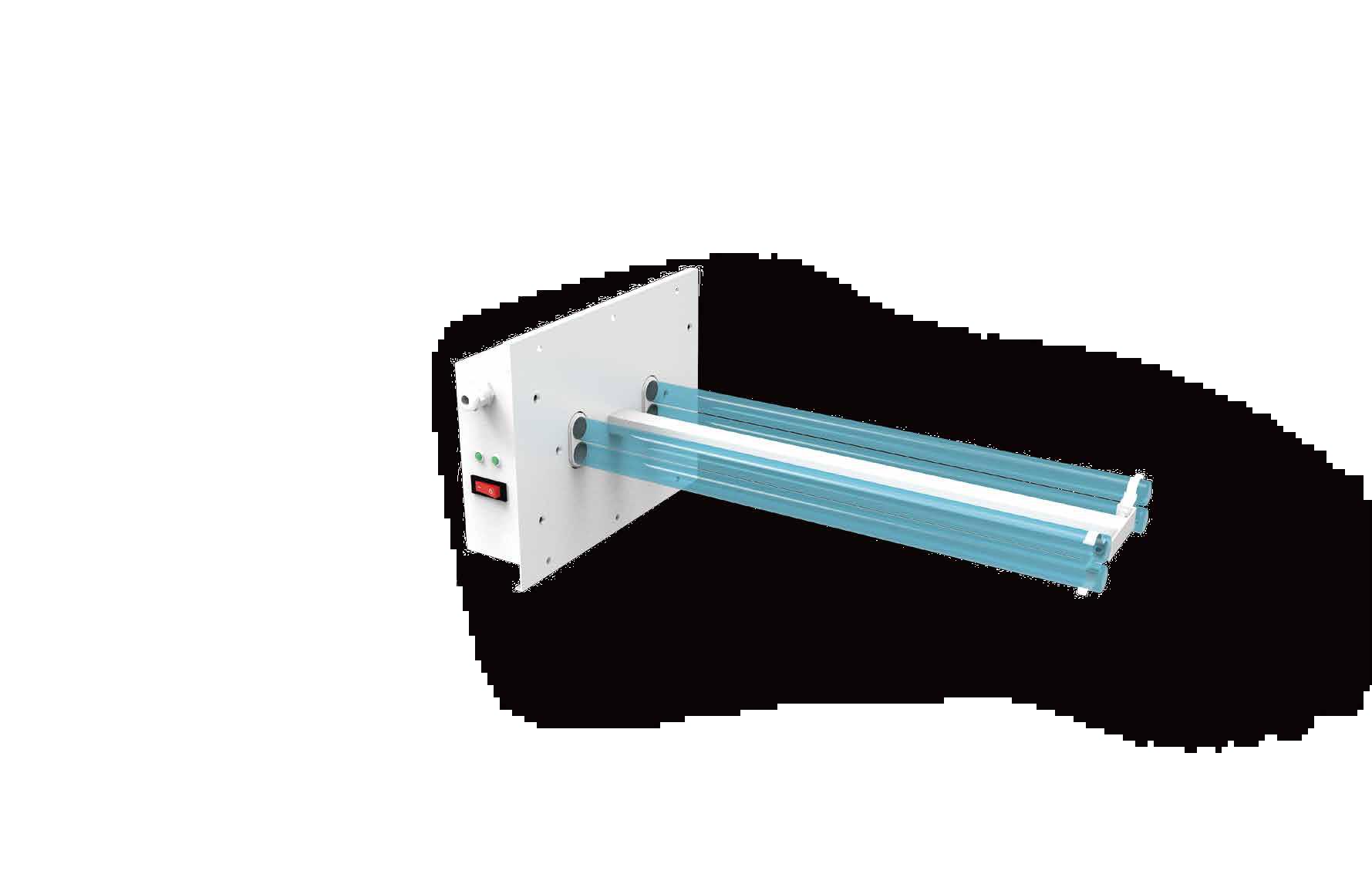 Lampada UV-C per disinfezione aria in condotte