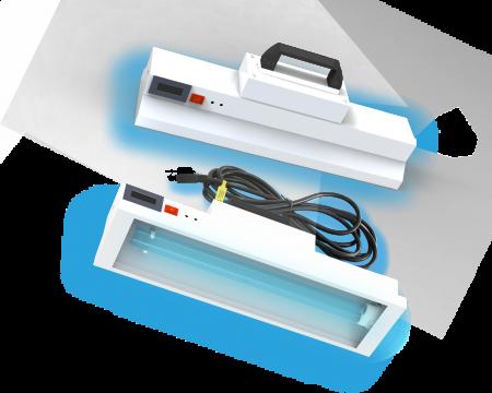 lampada portatile a batteria germicida